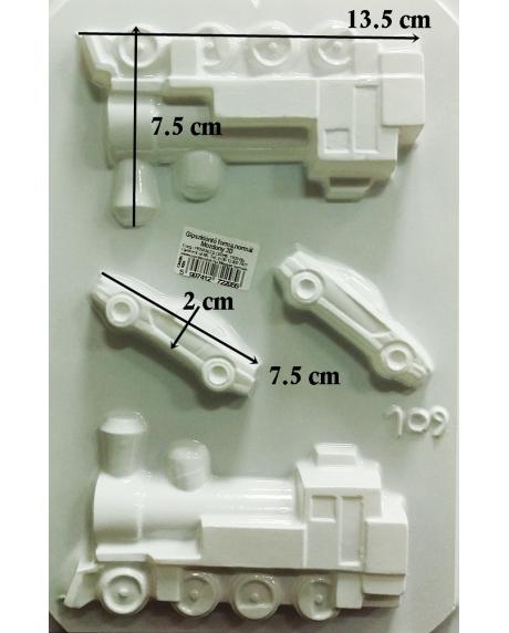 Matrita pentru turnat - Mijloace transport 3D 1