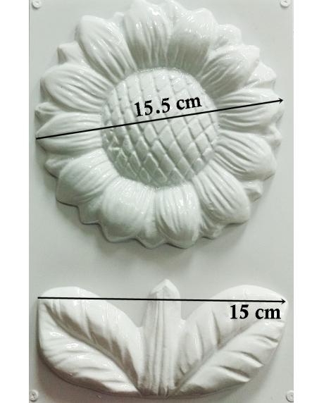 Matrita pentru turnat - Floarea soarelui 1