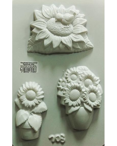 Matrita pentru turnat - Floarea soarelui 0