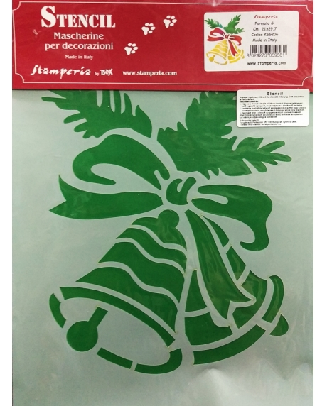 Sablon plastic flexibil - Clopotei 1