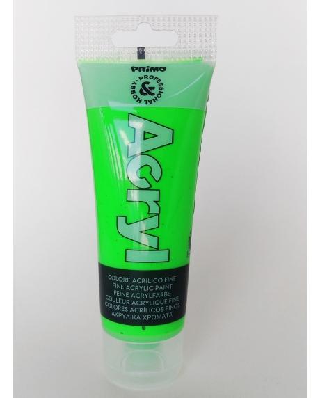 Vopsea acrilica fosforescenta 75 ml verde 0