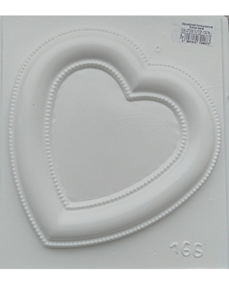Matrita pentru turnat - Rama inima 0