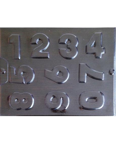 Matrita pentru turnat - Cifre 0