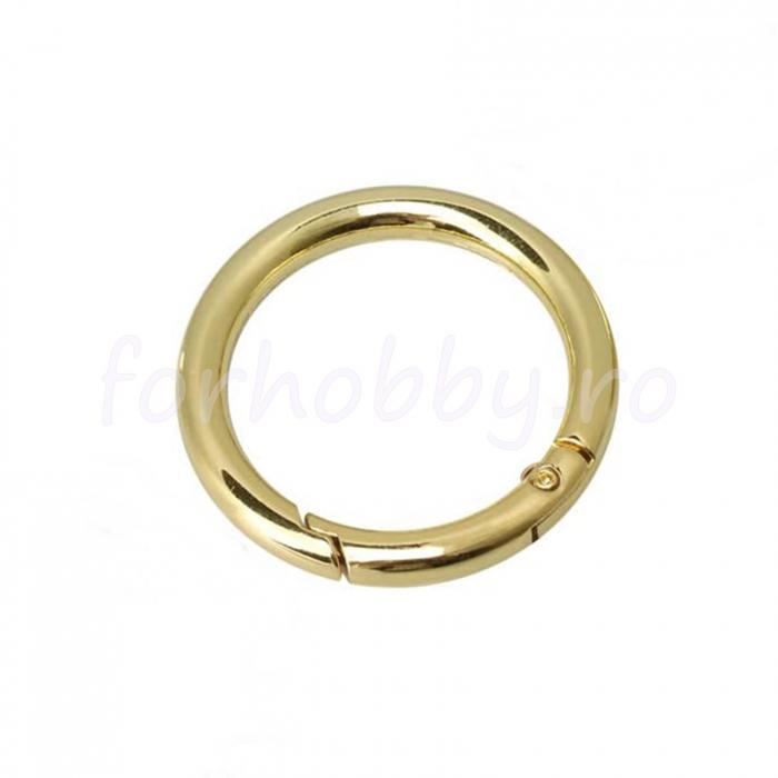 inel-rotund-carabina-auriu 2