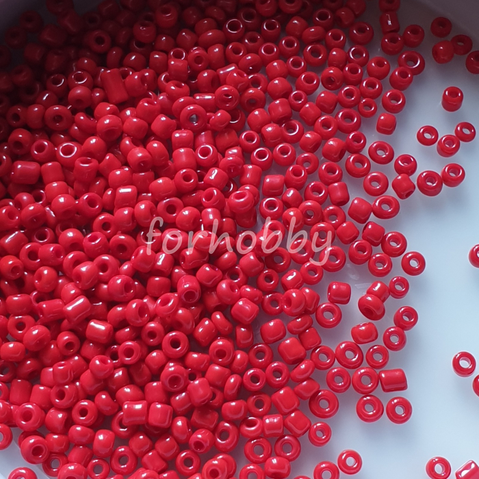 margele-de-nisip-3mm-50g-rosu-inchis-opac 0