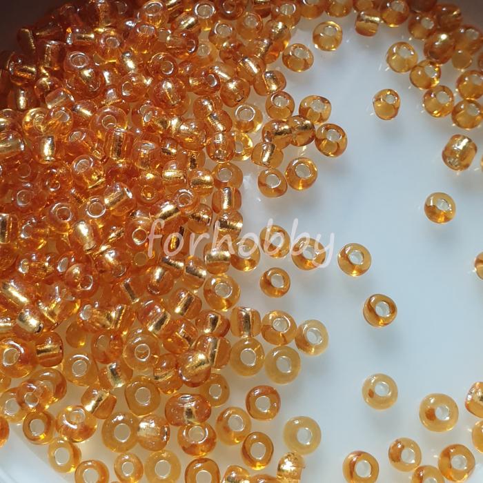 margele-de-nisip-4mm-50g-galben-auriu-transparent-miez-argintiu 0