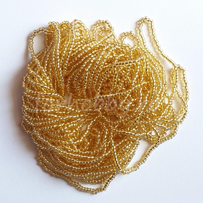 margele-nisip-preciosa-ornela-11-0-17020-galben-transparent-miez-argintiu 0
