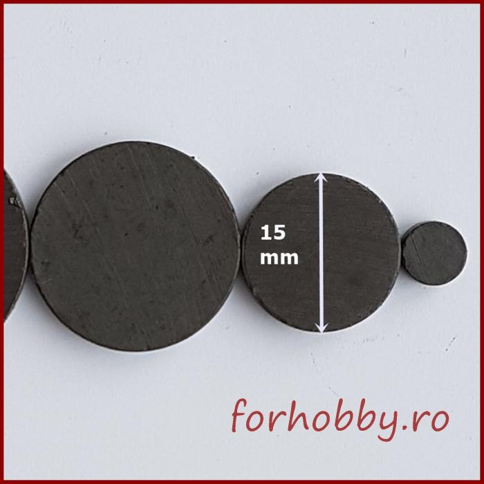 Magnet rotund 15mm/3mm
