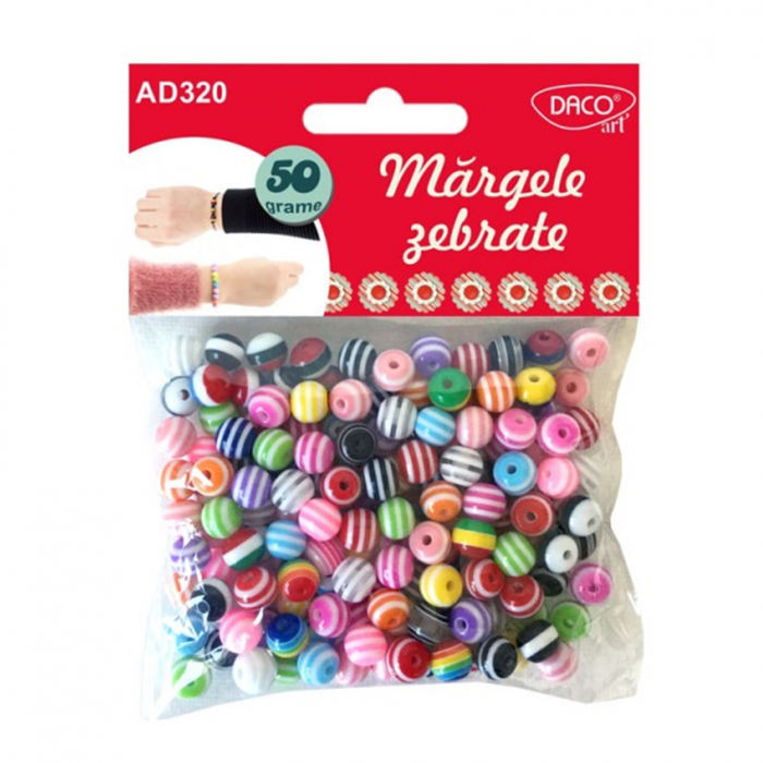 margele-rotunde-8mm-dungi-albe-colorate-50g-daco-ad320 0