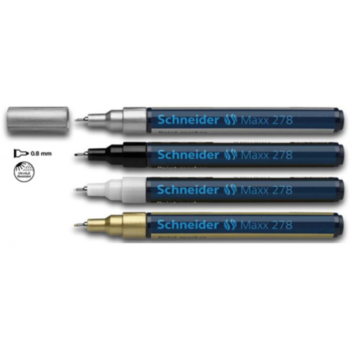 Marker cu vopsea Schneider Maxx 271 - Auriu 0