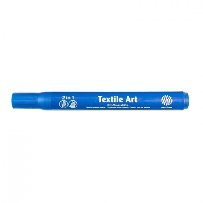 Marker pt textile Nerchau - Albastru 1