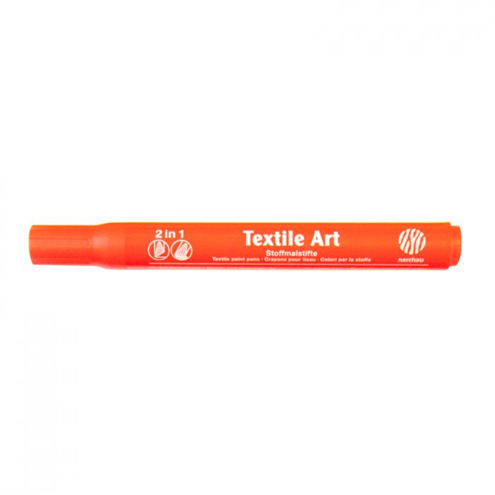 Marker pt textile Nerchau - Portocaliu 1