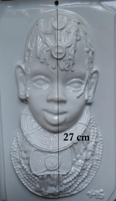 Matrita pentru turnat- Masca africana 1