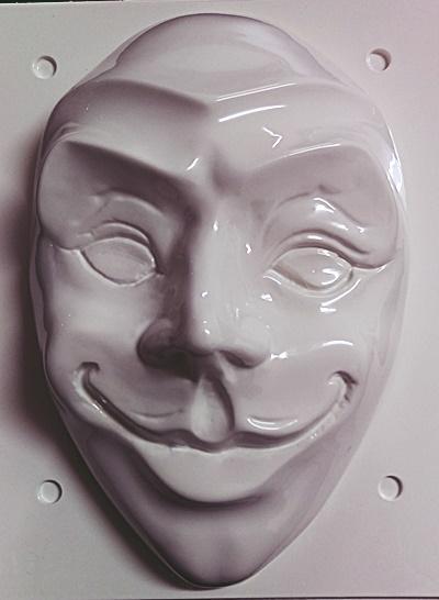 Matrita pentru turnat - Masca Joker 0