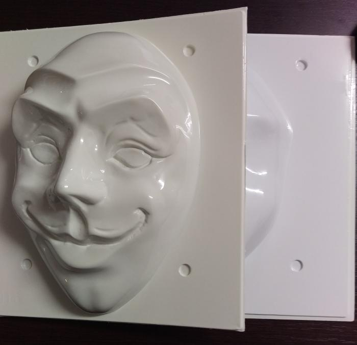 Matrita pentru turnat - Masca Joker 2