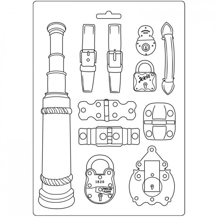 matrita-pentru-turnat-stamperia-k3pta484-accesorii-calatorie 0
