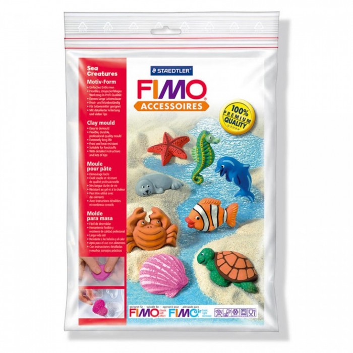 Matrita pentru turnat FIMO Creaturi Marine 1