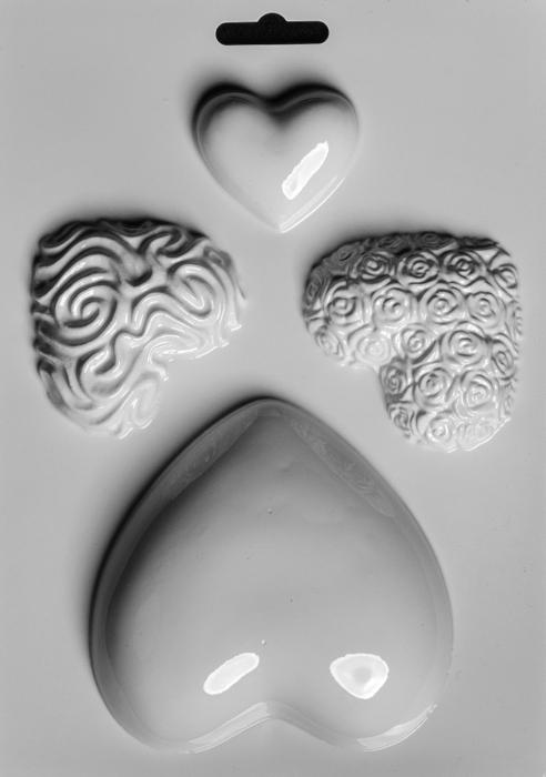 Matrita pentru turnat - Inimi 0