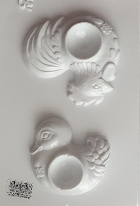 Matrita pentru turnat - Suport oua - Rata si cocos 1