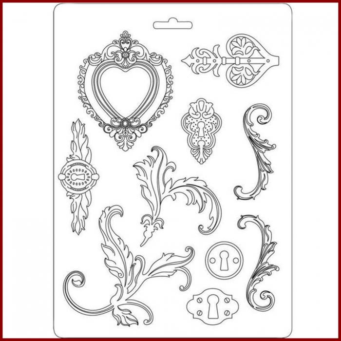 matrita-pentru-turnat-stamperia-k3pta526-ornamente 0