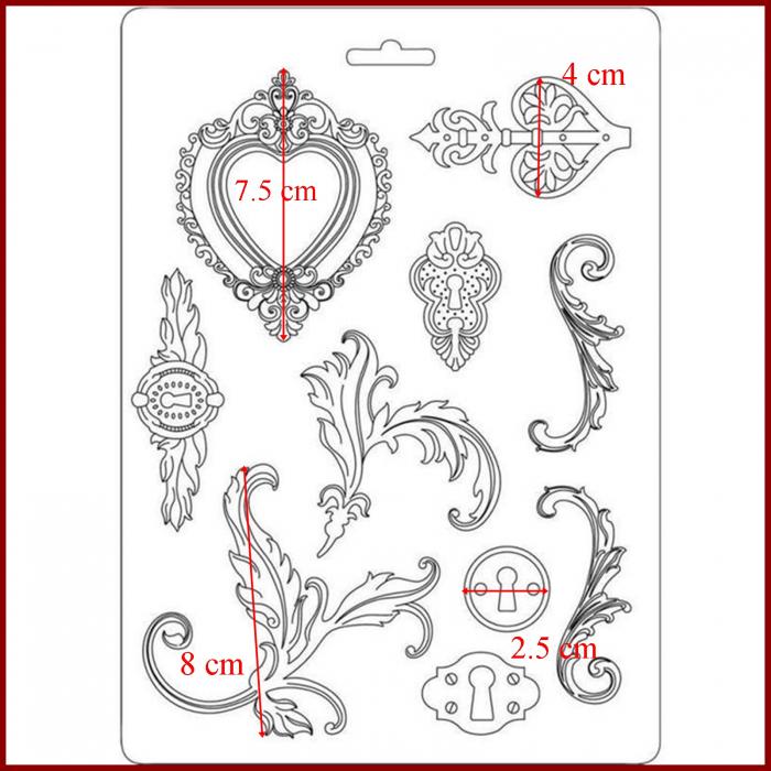 matrita-pentru-turnat-stamperia-k3pta526-ornamente 1