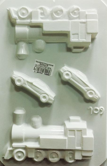 Matrita pentru turnat - Mijloace transport 3D 0