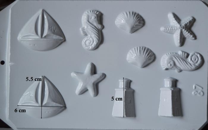 Matrita pentru turnat - Modele marine 1