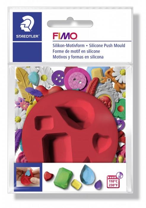 Mulaj din silicon FIMO Pietre semipretioase 1