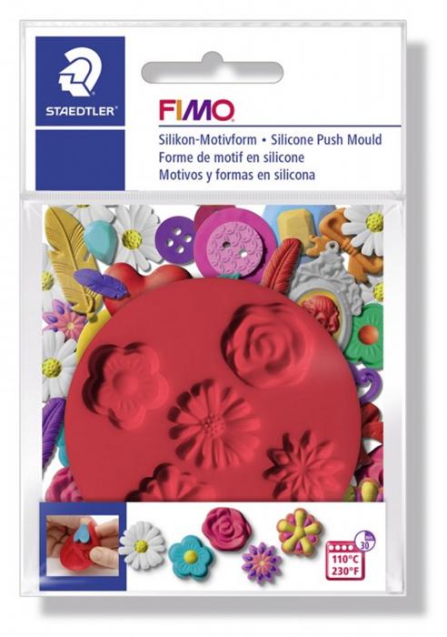 Mulaj din silicon FIMO Flori 1