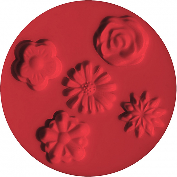 Mulaj din silicon FIMO Flori 0