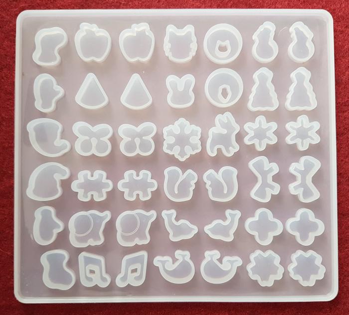 Mulaj din silicon Set 48 pandantive 0