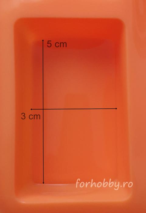 Mulaj din silicon - Forme geometrice dreptunghi 1