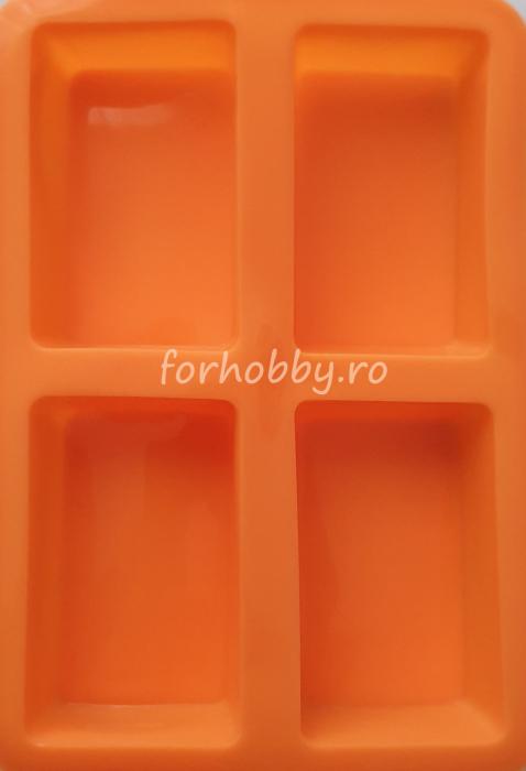 Mulaj din silicon - Forme geometrice dreptunghi 0