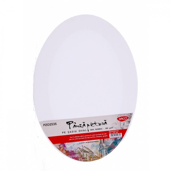 panza-pictura-pe-sasiu-oval-daco 0