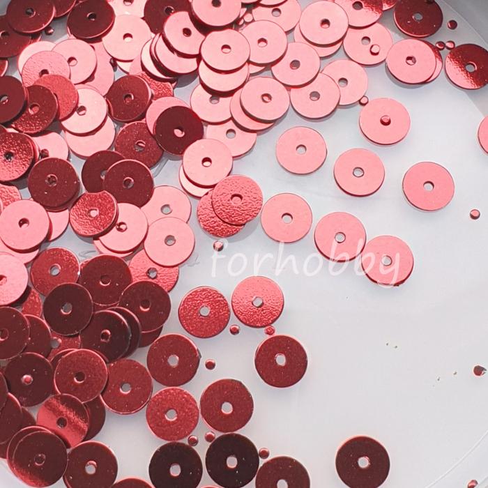 paiete-rotunde-nefatetate-6mm-5g-rosu 0