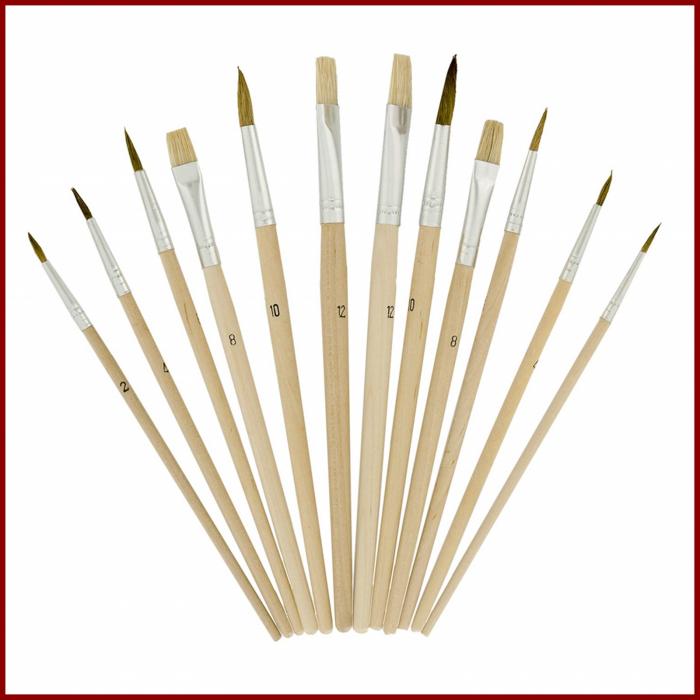 pensula-set-12-paleta-ovala-lemn-daco-pn012 1