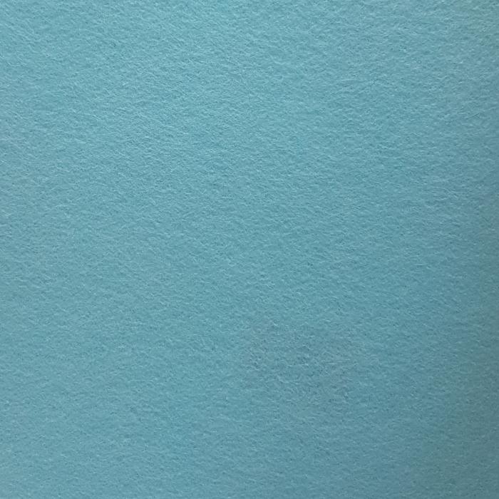 Pasla Fetru 100x100cm/2mm albastru deschis semirigid 0