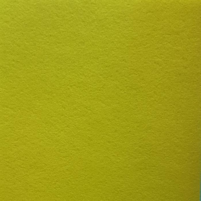 Pasla Fetru 100x100cm/2mm verde deschis semirigid 0
