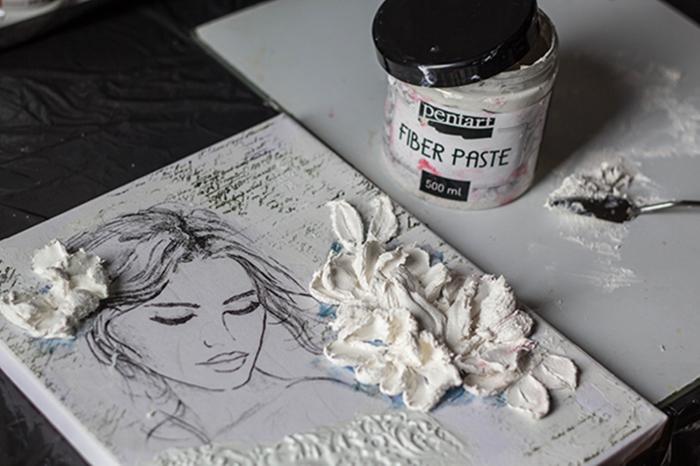 pasta-cu-fibre-pictura-sculpturala-pentart [2]
