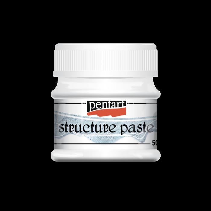 pasta-structura-alba-pentart 1