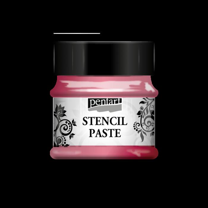 pasta-3d-perlata-pentru-sabloane-50-ml-trandafir-de-nalba-pentart 0