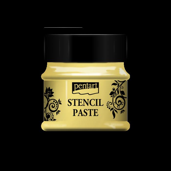 pasta-3d-perlata-pentru-sabloane-50-ml-galben-pentart 0