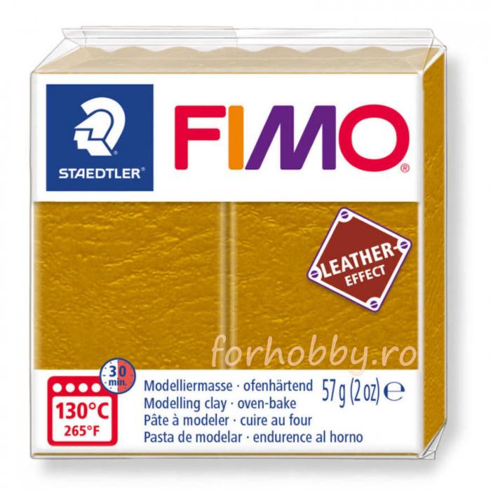 Pasta modelaj polimeric Fimo Effect Piele 57 g