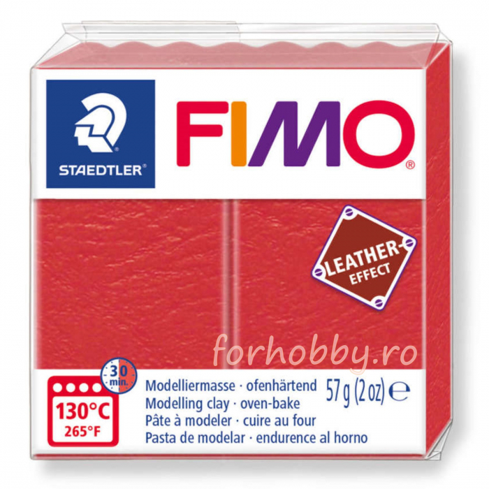 Pasta modelaj polimeric Fimo Effect Piele 57 g 0