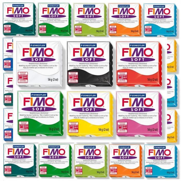 Pasta modelaj polimeric Fimo Soft 57g 0