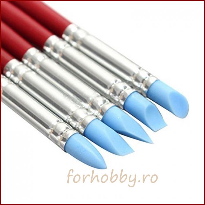 set-pensule-cu-varf-din-silicon-5-modele 1