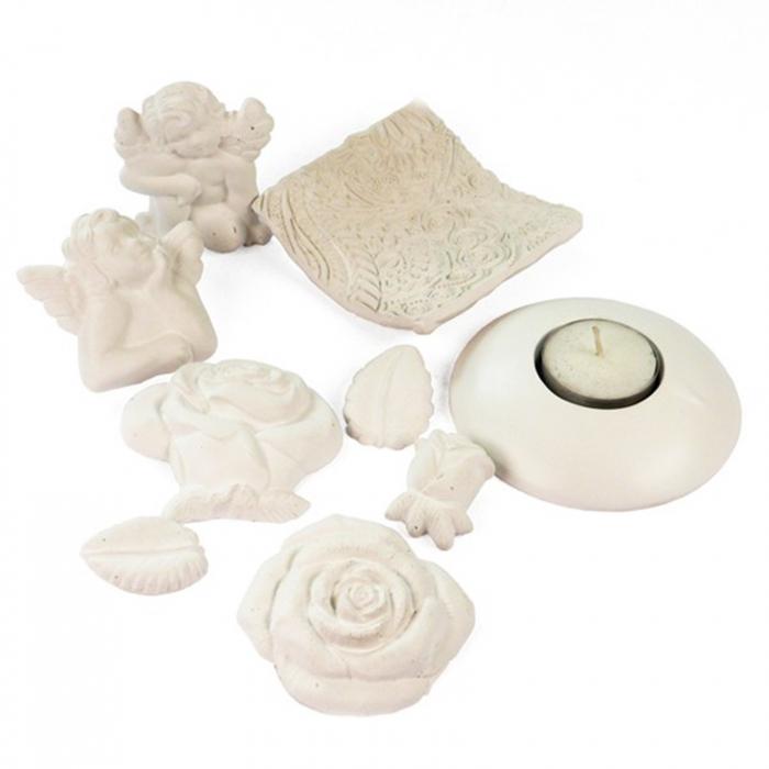 Praf Ceramic Alb Extrafin 1 kg 1