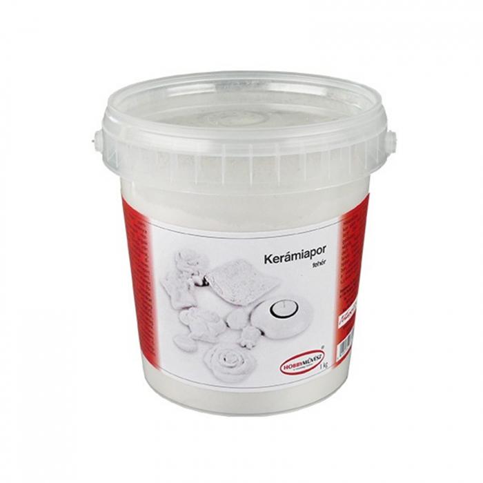 Praf Ceramic Alb Extrafin 1 kg 0