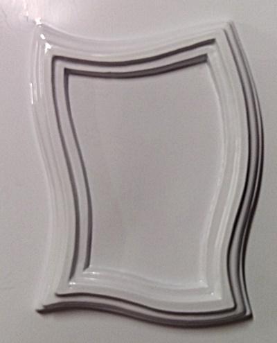 Matrita pentru turnat- Rama ondulata