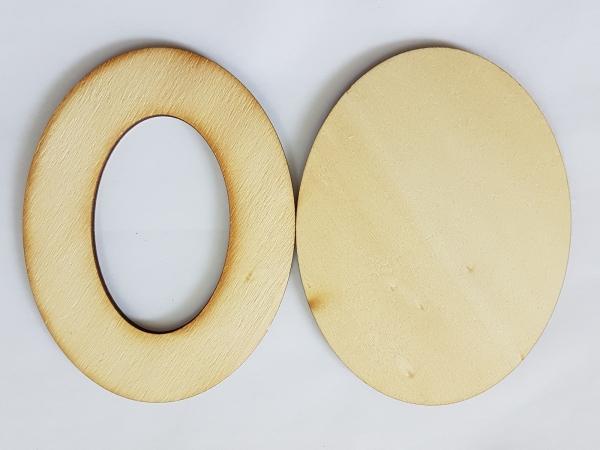 Rama din lemn 5 x 8 cm 2